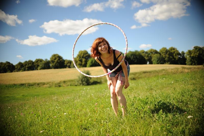 gosia hulajdusza hula hoop