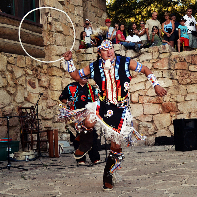 indian hoop dance