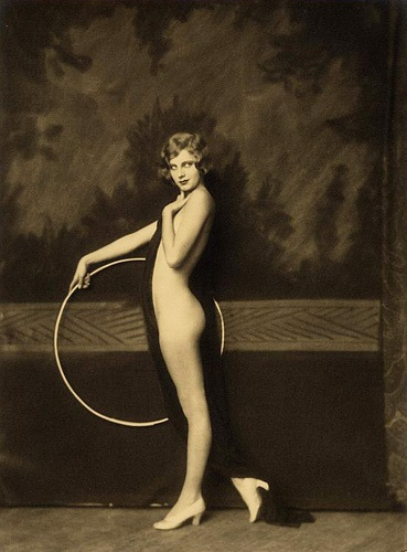 olive brady with hula hoop