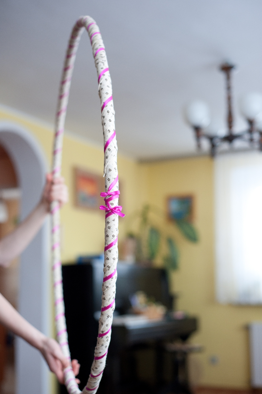 jak ozdobić hula hoop